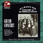 D.C. Halls New Concert and Quadrille Band Grand Concert CD